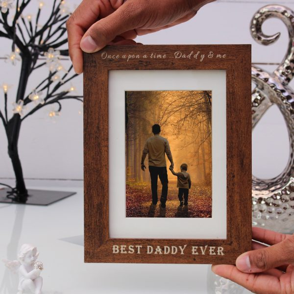 Engraved Frame and Printed Picture