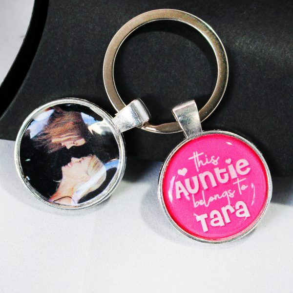 this aunty belongs to personalised keyring
